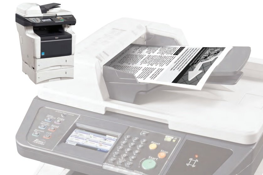 B&W copier